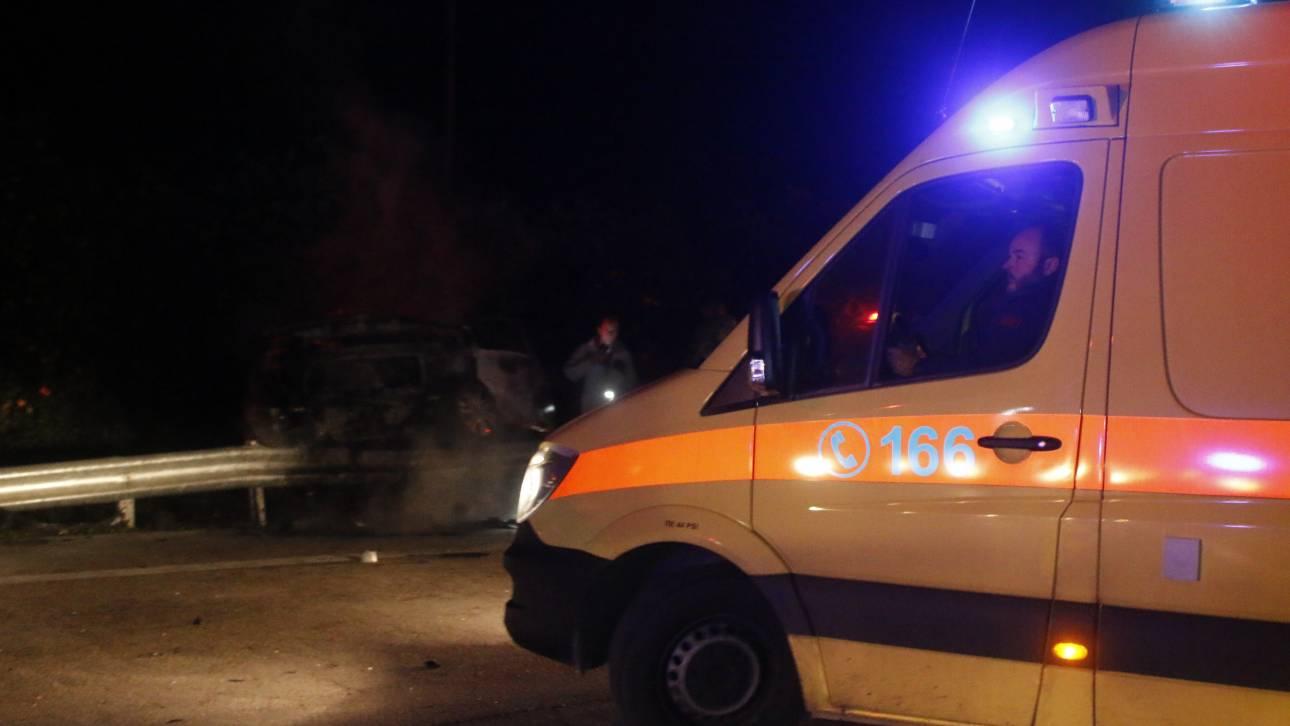 Δύο νέοι άνθρωποι νεκροί σε τροχαίο στην Ανδραβίδα