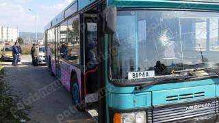 Επιβάτης του ΚΤΕΛ έπεσε με το κεφάλι στο παρμπρίζ του λεωφορείου (pics&vid)