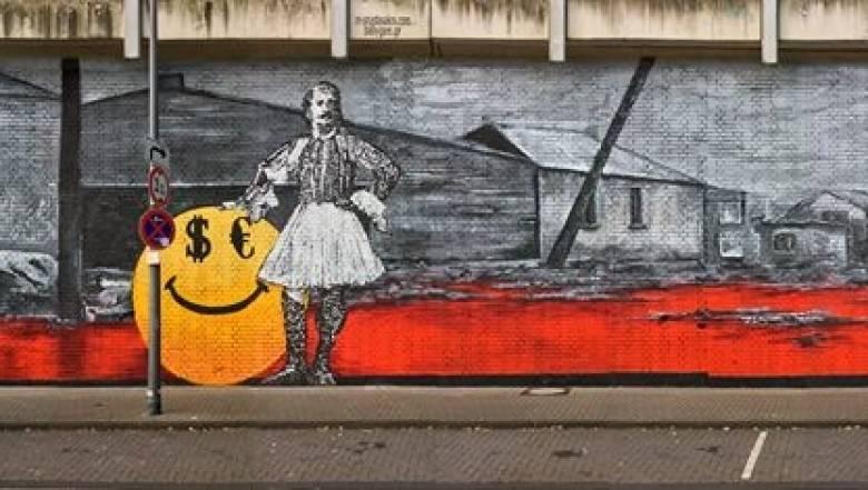 Ένας αγέρωχος τσολιάς στην Κολωνία (pics&vid)