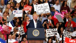 ΗΠΑ: Ο Ντ.Τραμπ κάνει τα πρώτα βήματα της προεκλογικής κούρσας του... 2020 (pics)