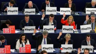 Διαμαρτυρία για την ψήφιση της CETA από τους Θεσσαλούς κτηνοτρόφους