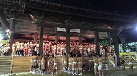 Saidai-ji:  Το Φεστιβάλ που… βγάζει τους Γιαπωνέζους από τα ρούχα τους
