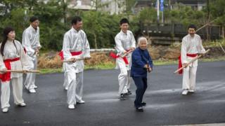 Μία γκουρού του kung fu ετών 93!