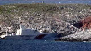 Ηurriyet: Πλοιάριο της τουρκικής ακτοφυλακής «έδεσε» στα Ίμια (vid)
