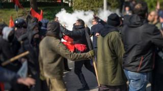 Νεαρός διαδηλωτής σοβαρά τραυματισμένος από τα επεισόδια στα Ιωάννινα