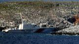 Μοντάζ των Τούρκων το βίντεο με το πλοίο να «δένει» στα Ίμια