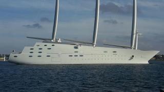 Το πολυτελές «Sailing Yach A» Ρώσου ολιγάρχη κατασχέθηκε στο Γιβραλτάρ λόγω χρεών