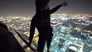 Παραβίασαν τα μέτρα ασφαλείας και σκαρφαλώνουν κρυφά σε ουρανοξύστη της Μ. Βρετανία (Vid)