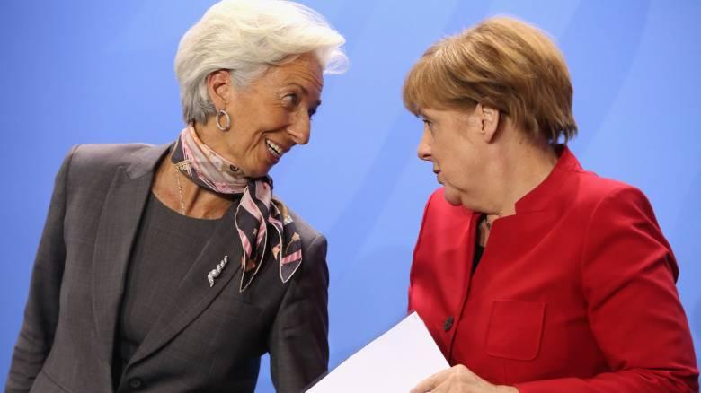 Μέρκελ-Λαγκάρντ: Οι «σιδηρές κυρίες» αποφασίζουν για την Ελλάδα
