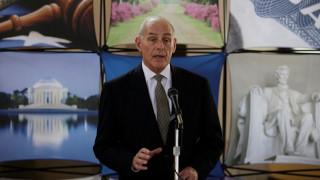 ΗΠΑ: Τι δήλωσε ο υπ. Εσωτερικής ασφάλειας σχετικά με τις απελάσεις