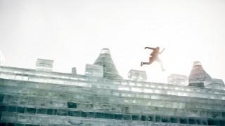 «Χαμηλές πτήσεις» στην παγωμένη πολιτεία της Χαρμπίν