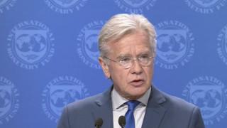 Το ΔΝΤ ζητά ισχυρή και εμπροστοβαρή δέσμευση για ελάφρυνση του ελληνικού χρέους