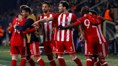 Europa League: με νίκη 3-0 επί της Οσμανλίσπορ στους 16 ο Ολυμπιακός
