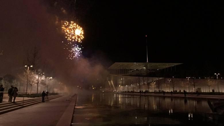 Με πυροτεχνήματα ολοκληρώθηκε η παράδοση του Σταύρος Νιάρχος (pics&vid)