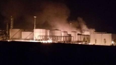 Κόλαση από έκρηξη σε χημικό εργοστάσιο στο Ουζμπεκιστάν (pics)