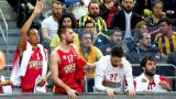 Euroleague: έχασε από τη Φενέρ, κράτησε τη διαφορά ο Ολυμπιακός