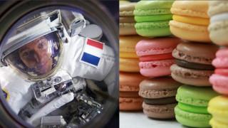 «Διαστημικά μακαρόν» για τα γενέθλια του αστροναύτη Τομά Πεσκέ