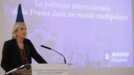 Λεπέν: «Καιρός να τελειώνουμε με την ΕΕ»