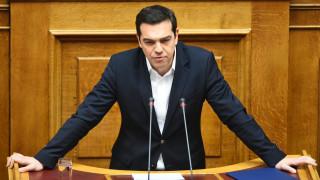 Ο Αλέξης Τσίπρας ενημερώνει την Βουλή για την συμφωνία Eurogroup