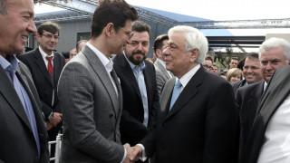 Η συνάντηση του Παυλόπουλου με τον Ρουβά (pics)