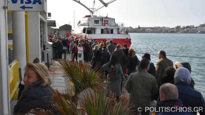 Απόκριες 2017: Μαζική «απόβαση» Τούρκων στη Χίο για το τριήμερο (pics&vid)