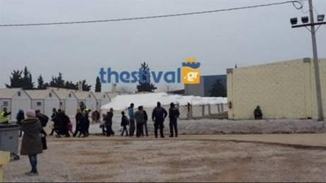 Θεσσαλονίκη: Ένταση σε δομή προσφύγων