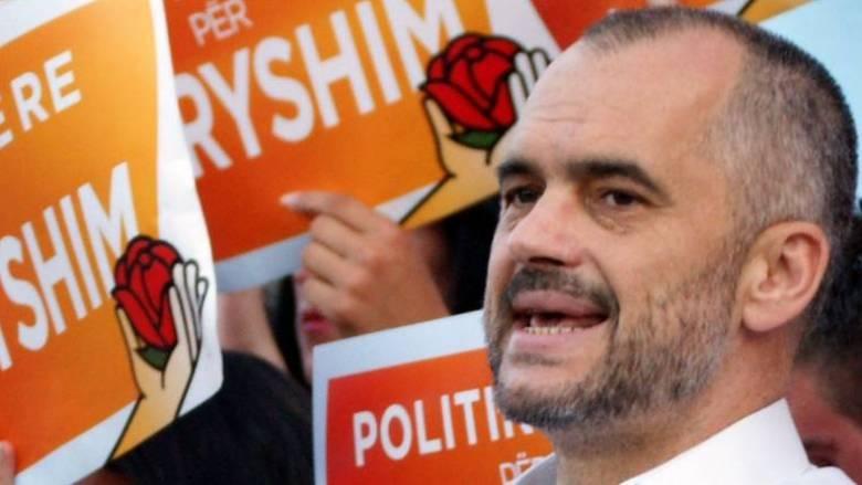 Ο Έντι Ράμα σε ημερίδα της Ελληνικής Εθνικής Μειονότητας - Μηνύματα προς την Ελλάδα