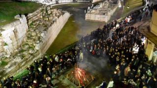 Απόκριες 2017: Υπαίθριο γλέντι στο αρχαίο Θέατρο της Λάρισας (pics&vid)