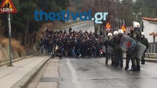 Σοβαρά επεισόδια στη Θεσσαλονίκη πριν τον αγώνα Ηρακλή-ΠΑΟΚ (vids)