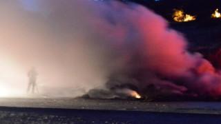 Εθνική Πατρών-Πύργου: Νεκρή μητέρα δύο παιδιών από φωτιά σε καμπίνα νταλίκας (pics&vid)