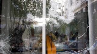 Εμπρηστική επίθεση και φθορές στο Γαλλικό Ινστιτούτο