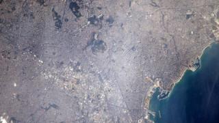 Το μακρινό «καλησπέρα» ενός αστροναύτη της NASA στην Αθήνα