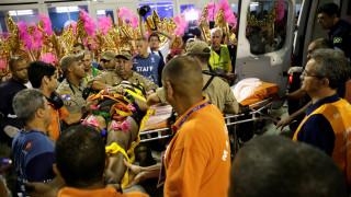 Βραζιλία: Νέο ατύχημα με τραυματίες στο Σαμπαδρόμιο του Ρίο ντε Τζανέιρο