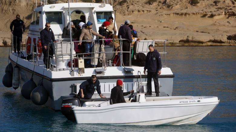 Το Λιμενικό κατάφερε να σώσει 41 μετανάστες κοντά στα Κύθηρα