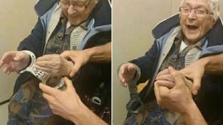 Το όνειρο της ζωής της έγινε πραγματικότητα: Στο κελί της φυλακής μια 99χρονη (pics)