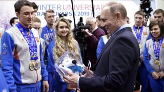 Πούτιν: Δεν υπήρξε ποτέ πρόγραμμα ντόπινγκ με κρατική χορηγία στη Ρωσία