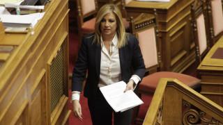 Φ.Γεννηματά: Απάνθρωπα όσα λέγονται από βουλευτές για το δυστύχημα στην Αθηνών-Λαμίας