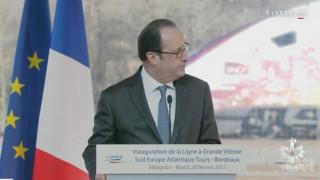 Ελεύθερος σκοπευτής πυροβολεί κατά λάθος κατά τη διάρκεια ομιλίας του Φρανσουά Ολάντ