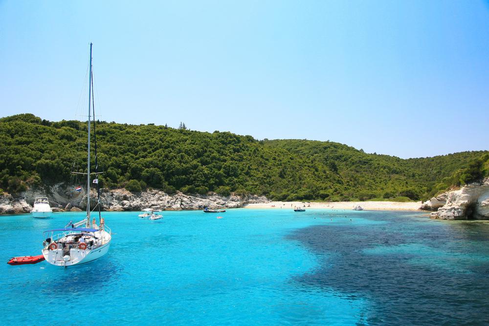 Ionian sea sailing