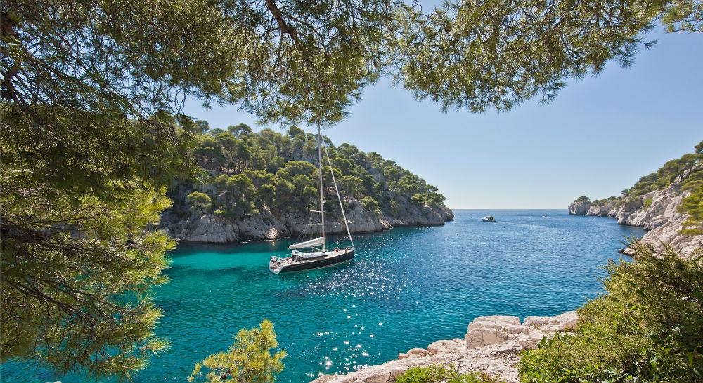 sailboat mediterranean small