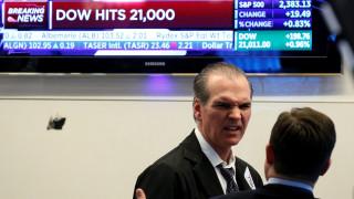 Νέο ιστορικό ρεκόρ για τον Dow Jones