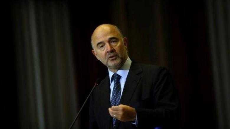 Πιέρ Μοσκοβισί: Η Ιταλία πρέπει να προχωρήσει σε μεταρρυθμίσεις για την ανάπτυξη
