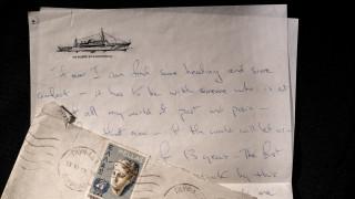 18 χαμένες ερωτικές επιστολές περιφρόνησης της Τζάκι Κένεντι στο σφυρί