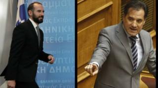 «Πόλεμος» Τζανακόπουλου-Γεωργιάδη στο twitter