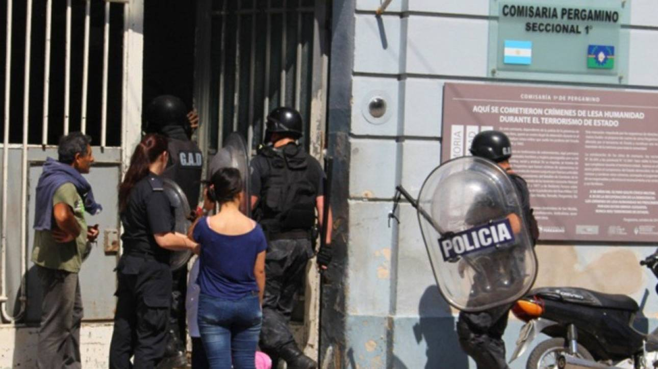 Αργεντινή: Κρατούμενοι κάηκαν ζωντανοί σε αστυνομικό τμήμα (pics)
