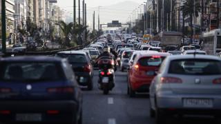 Κυκλοφοριακό χάος στην Αττική λόγω της απεργίας σε Μετρό, ηλεκτρικό και τραμ