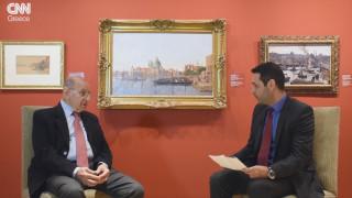Ο Βασίλης Θεοχαράκης και η ζωγραφική: μία σπάνια εξομολόγηση στο CNN Greece