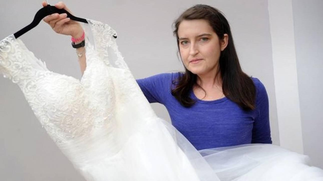Πληγωμένη νύφη πουλάει το νυφικό της. Την χώρισε όταν έμαθε ότι έχει μια σπάνια ασθένεια