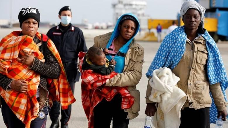 Λύτρωση για 1.500 μετανάστες και πρόσφυγες που διασώθηκαν στη Μεσόγειο