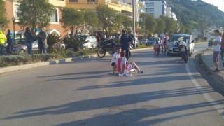Ρόδος: Ποδηλάτες συγκρούστηκαν με μοτοσικλέτα της ΕΛΑΣ κατά την διάρκεια αγώνα (pics)
